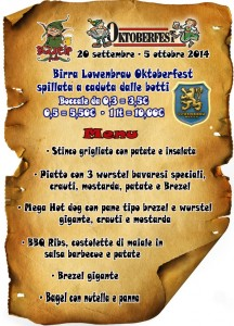 Oktoberfest 2014 menu no prezzi copy