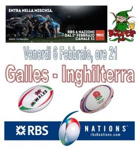 Rugby 6 Nazioni partite